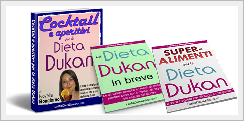 Ebook Cocktail e aperitivi per la dieta Dukan