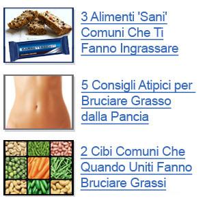 CLICCA QUI adesso per scoprire come BRUCIARE GRASSO facilmente!