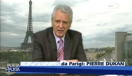 Pierre Dukan ospite di Porta a porta