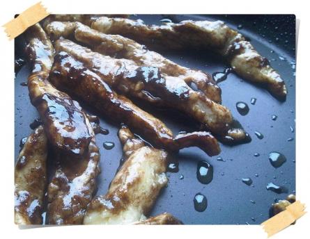 Ricetta per la dieta Dukan: straccetti di pollo con aceto balsamico