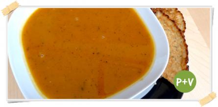 Ricetta per la fase di crociera della dieta Dukan: zuppa di zucca e salvia
