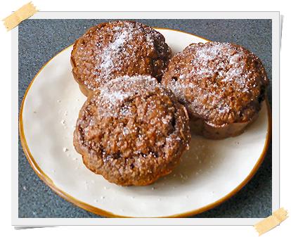 ricetta muffin dukan cioccolato
