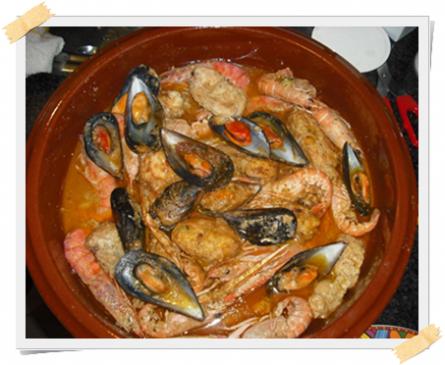 Zarzuela spagnola, ricetta dietetica