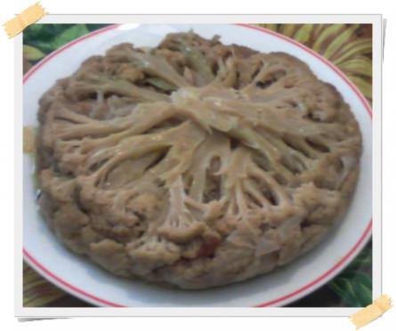 Cavolfiore affogato: ricetta dietetica per la Dukan