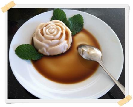 gelo di yogurt vaniglia e cannella