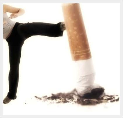 smettere di fumare e seguire un'alimentazione corretta