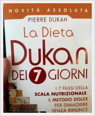 La dieta Dukan dei 7 giorni: scala nutrizionale