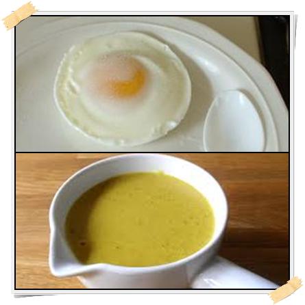 Ricetta per la dieta Dukan: uovo al microonde con salsa all'ananas e curry (dalla fase di attacco)
