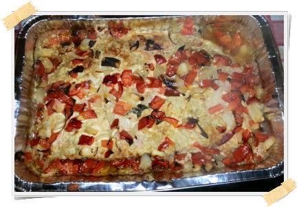 Ricetta per la dieta Dukan: pasticcio di tacchino con verdure (giorni PV)
