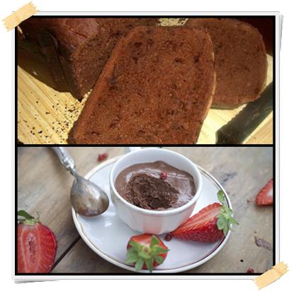 Ricette della mousse al cioccolato e fragola e del pane Dukan al cioccolato (fase di attacco)