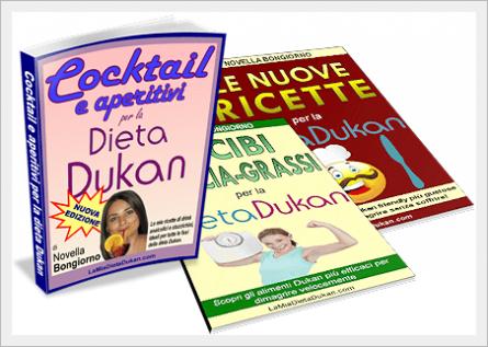 Cocktail e aperitivi per la dieta Dukan